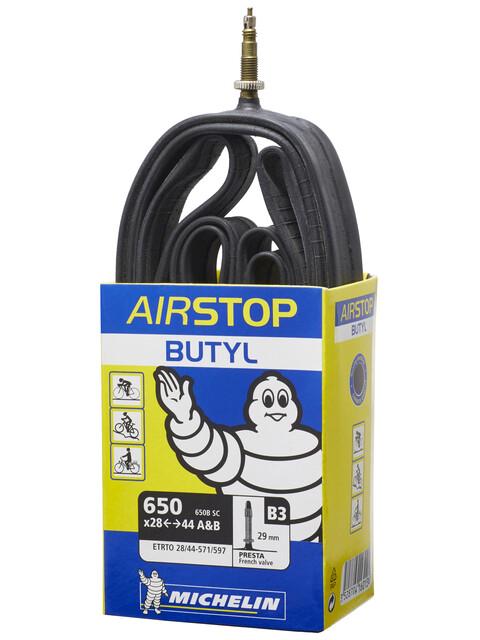 Michelin B3/D3 Airstop  Slange 26 tommer, Presta 29 mm Blå/Hvit